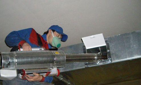 Дезинфекция вентиляционных систем